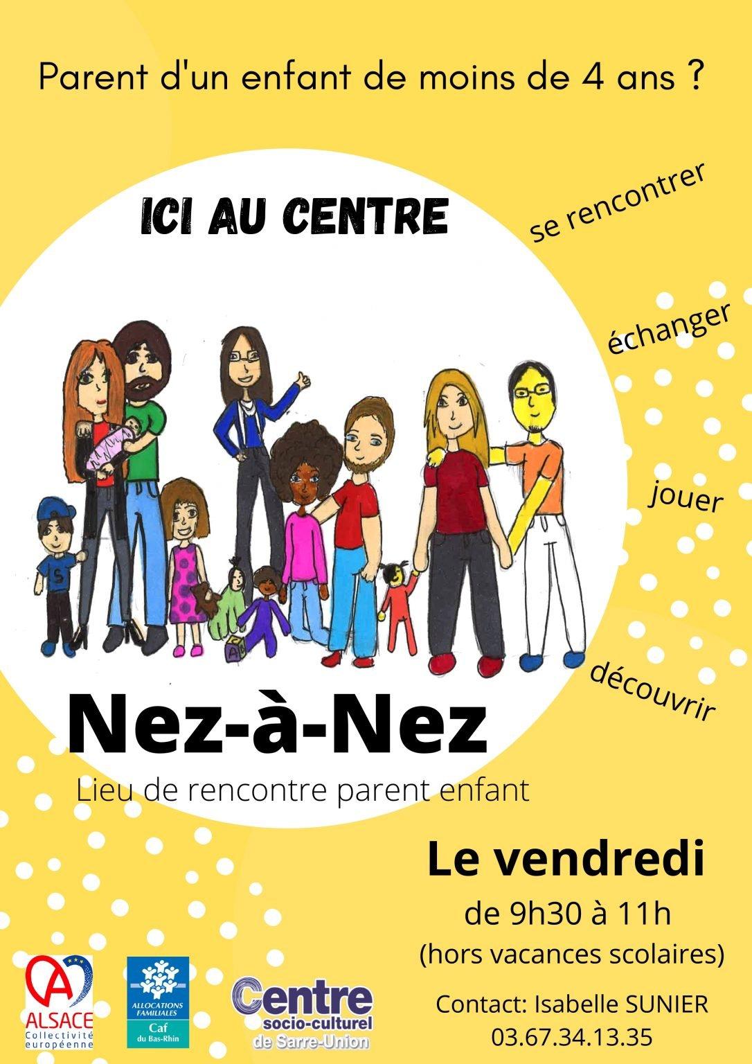 Nez-à-Nez nouvelle affiche 2021